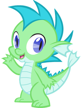 David the Water Dragon - Commission by Agirl3003