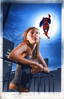 Mary Jane 2 Novel Cover by mikemayhew