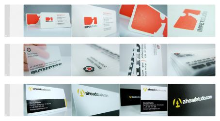 Business Cards realized 01 by Tcheely