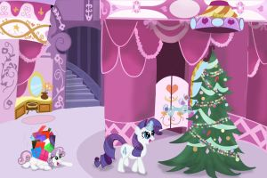 Hearth's Warming Eve at Carousel Boutique by lefthoovesdash