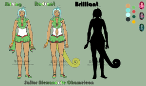 Sailor Alexandrite Chameleon Reference by StefBani