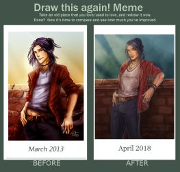 Before and After - Jean by Darya87
