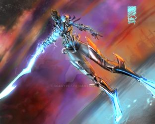 Concept Art - Energy sword by scarypet