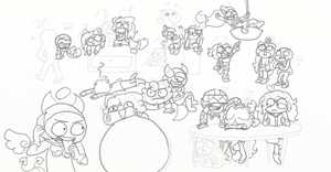 .:WIP | Draw The Squad #2:. by AllyTheCat1