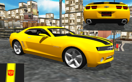 [MMD] Bumble Bee (Camaro) DL by OniMau619