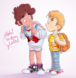 first day of school 062015 by SaraPlutonium