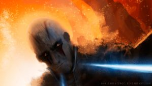 The fall of the Inquisitor by DarthTemoc