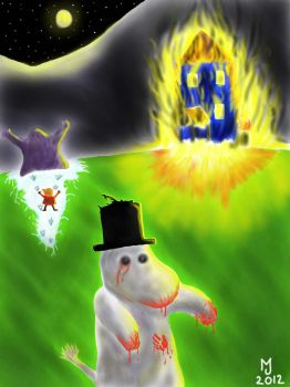 Zombies in Moominvalley by Jagdell