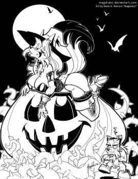 Another Angie Halloween by Magolobo