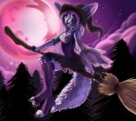 Cotton Candy Fennec Witch Halloween Commission by DarkEcoKat