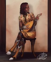 Commission: Rala by HalChroma