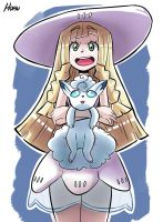 Lillie (P Sun  Moon) (Fi) by Horu111