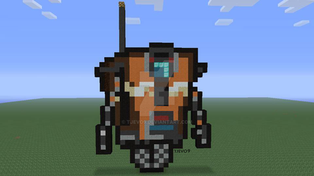 CL4P-TP (Claptrap) on Minecraft: Xbox 360 Edition by tjevo9
