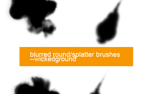 7 round brushes by Lucius-Admirer