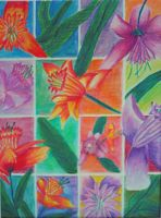 Flower Grid Design by abflabby