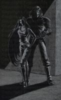 AU:  'Resurrection' portrait by FugueState