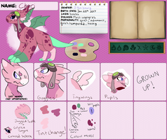 Cheri Ref Sheet by 1Apple-Fox1