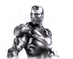 Iron Man by paranoidsheep