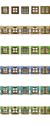 RPG Maker VX/Ace - Windows with Curtains by Ayene-chan