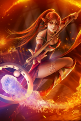 Fire Mage by tjota