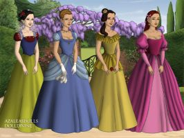 Disney Princesses by WhisperingWindxx
