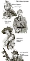 Actors in period costumes. by velvet-toucher