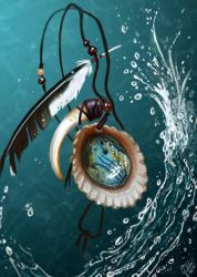 Pendant - Heart of the Ocean by Galder