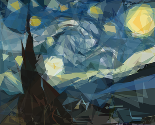 Starry Night Evolved by ABot3k