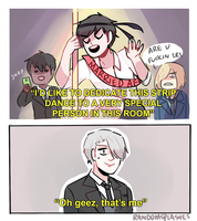 YOI: OH GEEZ by Randomsplashes
