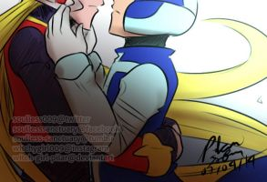 Megaman Zero: I miss you by witch-girl-pilar