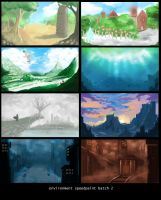 Environment Speed paint Batch 2 by StudioLG