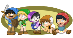 Hyrule toddlers