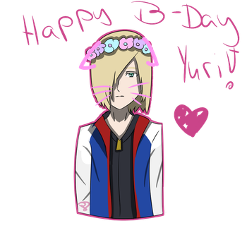 Happy B-Day Yurio (2) by pinkDiamond1362