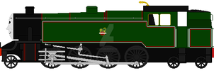 British rail 8MT 2-8-4T by mrbill6ishere