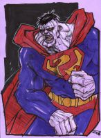 Superman Bizzarro by DenisM79