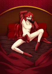 Commission: Grell by KaylaNostrade