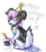 Happy Berfday Cori by Crysums