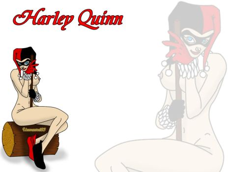 Harley Quinn Wallpaper by Unwanted83