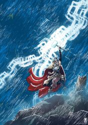 Thor Goddess of Thunder by luilouie