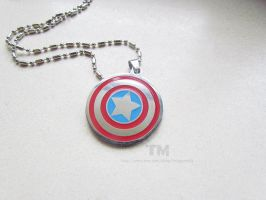A Hero's Shield - Captain America Inspired by thingamajik