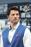 Castiel Colourisation by alice-castiel
