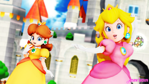 MMD Nintendo:The Princess by AmaneHatsura