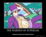 The Warden of Superjail Motivational Poster by Leonah728
