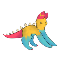 Dino Child ::COMM:: by Microwbird