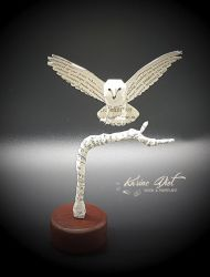 Hedwig Paper Sculpture from Harry Potter by KarineDiot