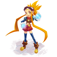 Esmy, Disgaea Style! by Robaato