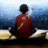 Mugen Staring At The Sea by ajcrwl