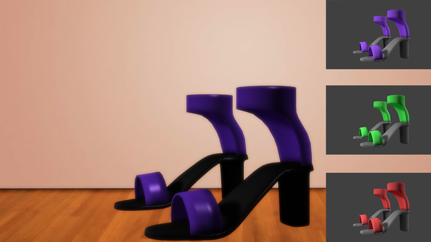 MMD Shoe - HH02 by Sy-Jei-Vee