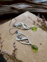 Chrysolite earrings by UrsulaJewelry