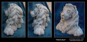Patrick Bust Sculpture View 5 by Dreamspirit